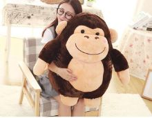 stuffed plush toy large 70cm cartoon fat orangutan plush toy soft doll hugging pillow ,christmas gift b1437(China)