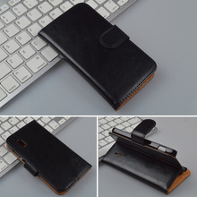 Crazy Horse Leather Case For  Google Nexus 4 for LG E960 cover Wallet Cover with ID Card Slots and Stand 4 Colors in Stock