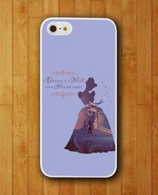 Customized Phone Case Cinderella Quotes About A Dream Case for Apple iPhone 4 4s 5 5s 5c 6 6s plus Mobile Cover 2015