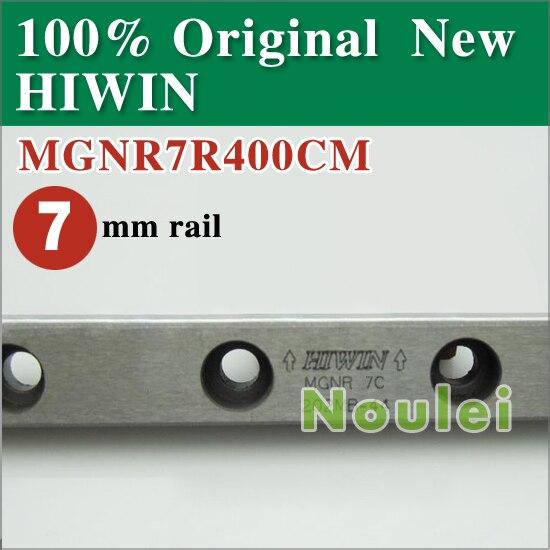 MGNR7 L= 400mm HIWIN 7mm Miniature Linear Guide Rail MGNR7R400CM / MGN7 / MGN<br><br>Aliexpress