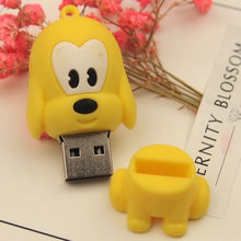 Kdata Pet dog USB Flash Drive mini Cartoon PenDrives cute Memory Stick Festival Gifts Drive Pendriver 4g 8g 16gb 32gb 64g u disk