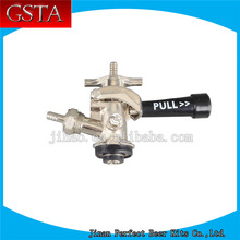 equiped with relief valve D system beer coupler with nice handle(China)
