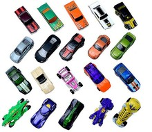1 car 100% Hotwheels Cars C4982 Random hot sale Original race cars scale models mini alloy cars toy for boys hobby collection(China)
