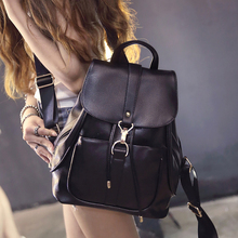 Lemon Kitten Fashion Korean Pu Backpack Student School Bag Backpack For Women Girl Rucksack Mochila Escolar Women Backpack