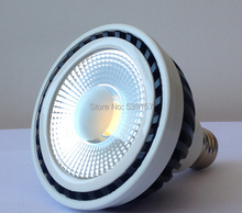 Free shipping Factory newest design dimmable cob par30 led lamp E27 15W COB led Spot Light lamp,85-265V