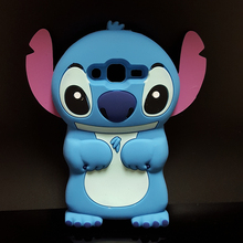 Style Cute 3D Cartoon Stich Soft Silicone Back Cover Lilo Stitch Case Samsung Galaxy J2 J200H J200G J200M J200FN - Here Have A Store store