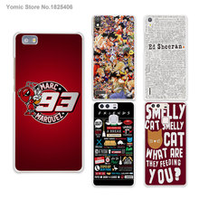 Coque Marc Marquez logo red hard White Skin phone Case Cover for HUAWEI Ascend P6 P7 P8 lite P9 honor 6 7 8 mate s 7 8 case