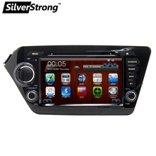 Free shipping 2Din 8 Inch Car DVD Player For KIA K2 RIO Forte With Radio GPS Navigation RDS Buetooth handsfree 1080P