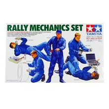 OHS Tamiya 24266 1/24 Rally Mechanics Set Miniatures figures Assembly plastic Model Building Kits(China)