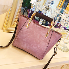 2017 new European all-match female bag Crossbody metal target small portable bag Shoulder Messenger Bag(China)