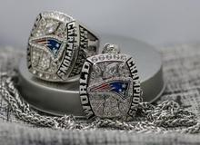 2016 New England Patriots FOOTBALL Championship Pendant and ring set copper solid with steel chain(China)