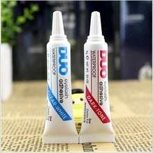 Factory Price 2Pcs New Eyelash Glue Dark +White Duo Best False Eyelash Adhesive Glue Makeup Eyelash Tools For Professional
