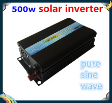 Free Shipping Low Price CE RoHS IP30 SGS approved Power Iverter 500w DC to AC for motor(China)