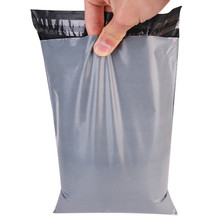 DHL 500Pcs/Lot Gray Courier Postage Poly Mailing Package Bags Self Adhesive Mail Express Bag Mail Pouches Goods Packaging Bag