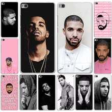 Drake Canada Hard White Cover Case for Huawei P9 P8 Lite P7 P6 & Honor 6 7 4C 4X G7