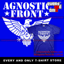 Agnostic Front Band Eage 100% Cotton Casual Loose Fashion T-shirt Tee T Multi-color