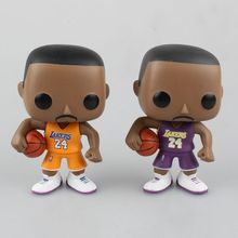 10cm Funko POP Kobe Bryant Action & Toy Figures NBA Figure 2k Los Angeles Lakers Collection Model Toys