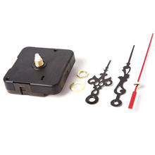 Mute Clock Movement Quartz Clock Mechanism Kit Spindle Mechanism Shaft 12mm with Hands Wholesale and Retail Stock Offer