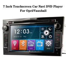 7 inch 2DIN Touch Screen Car GPS Navi DVD Player For Opel/Vauxhall 800*480 Car Stereo Radio Bluetooth Steering Wheel Control