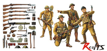 RealTS Tamiya 32409 WWI British Infantry w/Small Arms & Equipment 1/35 scale kit(China)
