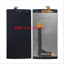 1pcs New LCD For OPPO Find 7 X9077 X9076 LCD Display Touch Screen Digitizer Assembly Replacement VAL92 T13 0.2(China)