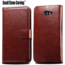 Buy Flip Leather Case sFor Fundas Sony M2 case coque Sony Xperia M2 S50h Dual D2302 D2305 D2303 Wallet Cover Stand Phone Cases for $3.74 in AliExpress store