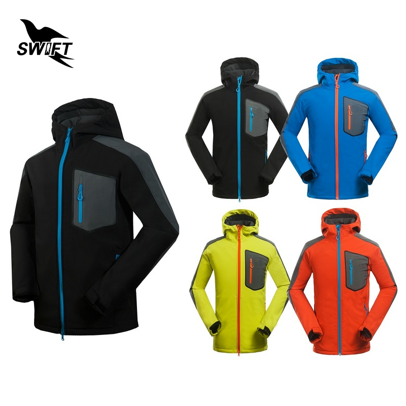 New Custom Tech Fleece Softshell Jacket Men Waterproof Windstopper Climbing Mountain Hiking Clothing Outdoor Ski Fishing Clothes<br>