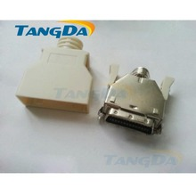 Tangda SCSI 26P 26 shrapnel 26pin welding wire male head servo drive joint slot type CN1 band MDR connector
