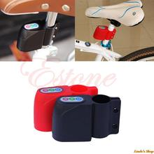 Excellent Security Alarm Security Bicycle Steal Lock Bike Bicycle alarm with Retail Packaging Black/RED