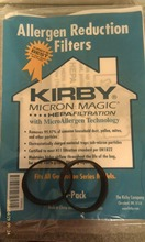 2 Belts 6 CLOTH fit for Sentria Hepa Micron Magic Kirby Vacuum Bags OEM SEALED PRODUCT