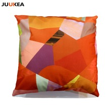 Natural Style Fashion New Cushion Red Style Print pillow Bed Sofa Home Car Decorative Pillow Fundas Para Almofadas Cojines