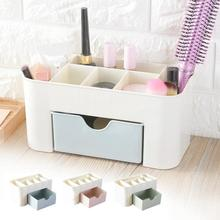 Desktop Drawer Storage Box Cosmetics Sundries Case Small Objects Drawer Box Organizer  Office Table Decorative Storage Boxes #35