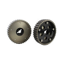 CNSPEED High Quality 2pcs Adjustable Cam Gears For Suzuki Swift Gti G13b Cam Pulley Black Cam Gear Fit Much More Car XS100823(China)