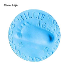Buy Baby Air Drying Soft Clay Handprint Footprint Imprint Casting Fingerprint 20g Hand Printing Mud Rubber Mud for $1.16 in AliExpress store