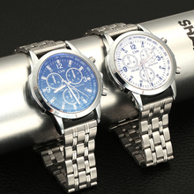 Business Wrist Watch Silver Steel Strip Waterproof Clock Fashion Casual Luxury Brand Men Watches Quartz With Box Gift Assistir