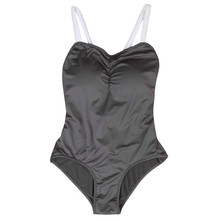Mother and Girls Swimming Clothing Super Quality Solid One-piece Family Holiday Swim Set Mom and Daughter Swimwear
