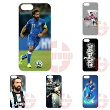 Case Accessories For Apple iPhone 4 4S 5 5C SE 6 6S 7 7S Plus 4.7 5.5 iPod Touch 4 5 6 Pirlo Juventus Football