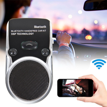 Specification of Solar Powered Speakerphone Wireless Bluetooth Handsfree Car Kit For Mobile Phone Dual Phone Connect