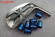 FUJISTAR GOLF FORGED carbon steel with CNC milled golf iron heads #4-#P(7pcs per set)(China)