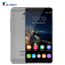 Oukitel U16 Max Smartphone 6.0 Inch MT6753 Octa Core 3GB RAM 32GB ROM Mobile Phone Android 7.0 Fingerprint OTG 4G Cellphone(China)