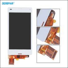"4.3"" inch For Sony Xperia Z3 Compact mini D5803 D5833 LCD Display Digitizer Touch Screen  Full Assembly 100% Test,Black White"