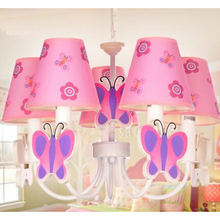 Children's Pendant Lights children's room applicable lights small living room pendant lamps 3/5 heads lamps LU721173 LU1027(China)