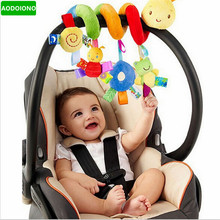 Infant Toys Baby Crib Revolves Around The Bed Stroller Playing Toy Crib Lathe Hanging Baby Rattles Mobile