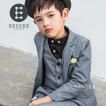 Boys Suits For Weddings New Arrival Boys Formal Suit For Boy Kids Suits Blazer Boy Blazer+Pants+Vest