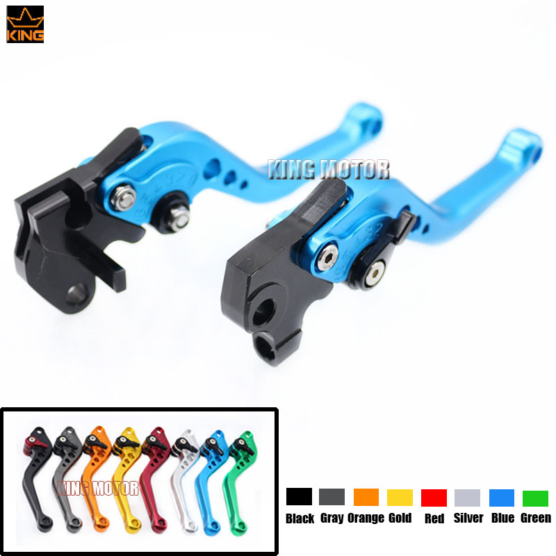 Hot Sale Motorcycle Accessories short Brake Clutch Levers Blue For YAMAHA YZF R125 2008-2011<br>