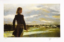 Wyeth Andrew  works Young woman American contemporary top painter oil painting works free delivery