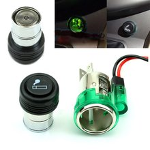 12V Auto Car Power Plug Socket Output 20mm Automatic Cigarette Lighter Ignition