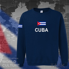 Cuba Cuban hoodies men sweatshirt polo sweat new hip hop streetwear flag nation team country tracksuit nation jerseyes CU CUB(China)