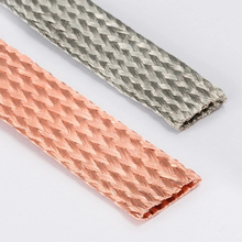 Sheath Audio-Speaker Braided Sleeving Copper Metal 1M for Power Conductive Anti-Interference