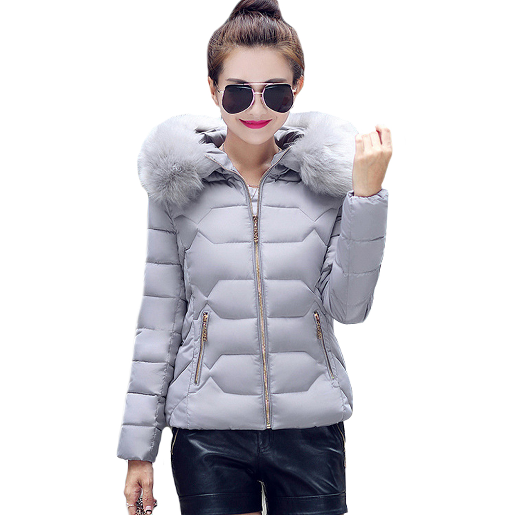 Tengo New Winter Fashion Lady  Hooded Jacket Thick Warm Cotton Outwear CoatОдежда и ак�е��уары<br><br><br>Aliexpress